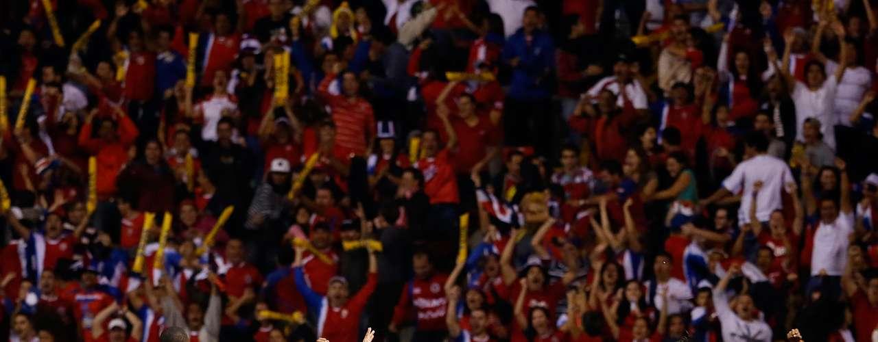Costa Rica mantuvo un gran nivel en el Hexagonal final de Concacaf y se convirtió en el primer calificado del área.