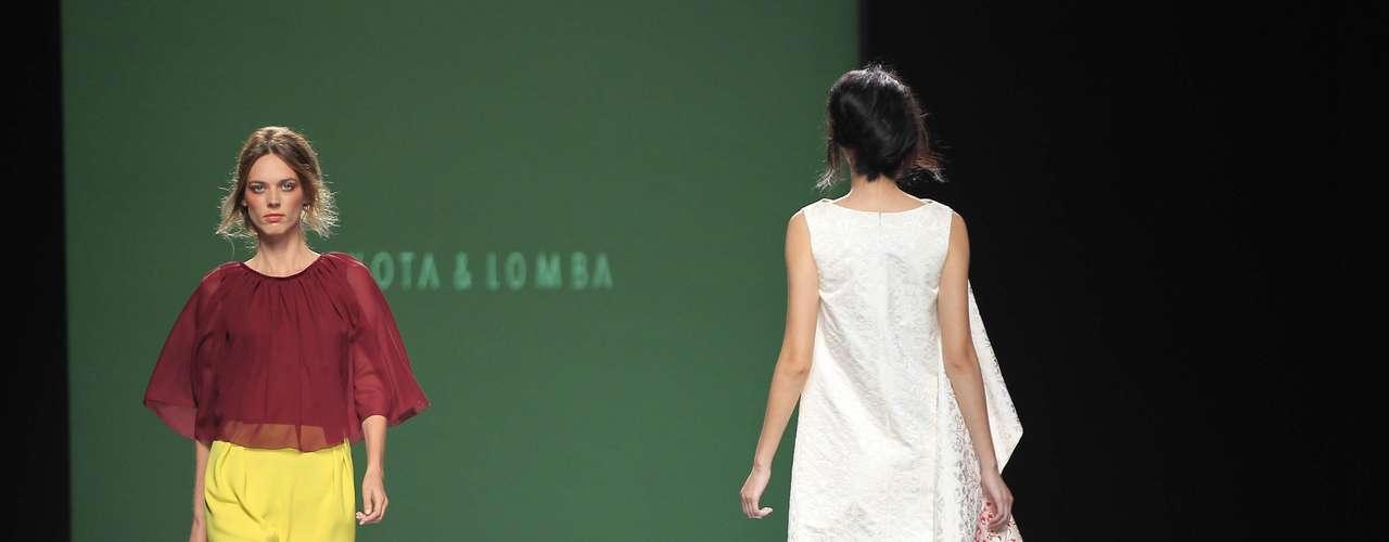 Desfile Devota & Lomba colección primavera- verano 2014 para la MBFW Madrid.
