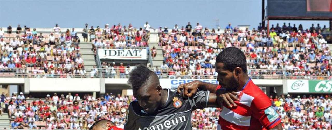 Las mejores imágenes del Granada - Espanyol