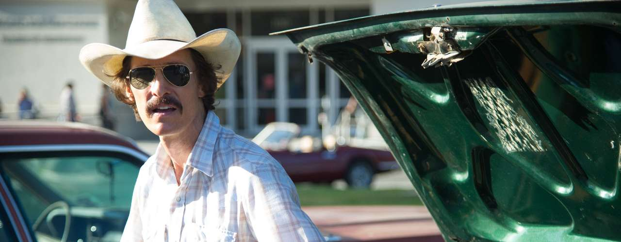 'Dallas buyers club'. Esta película y 'Mud' han revitalizado la carrera deMatthew McConaughey. El actor se quedó prácticamente en los huesospara meterse en la piel del activistaRon Woodruff y pocos dudan ya que estará en la lista de nominados en los próximos Oscar.