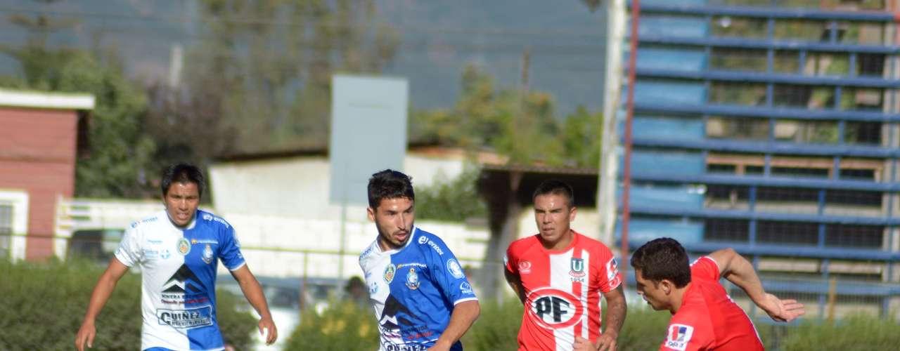 LA CALERA vs ANTOFAGASTA: Estadio Nicolás Chahuán, 18:00 horas.