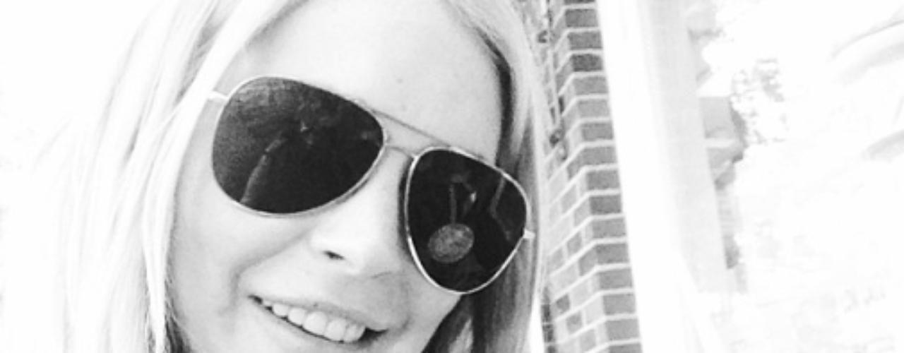 23 de Septiembre - Lindsay Lohan trata de llevar una vida sin excesos y es por eso que cambió el alcohol por el helado. ¿De qué sabor será?