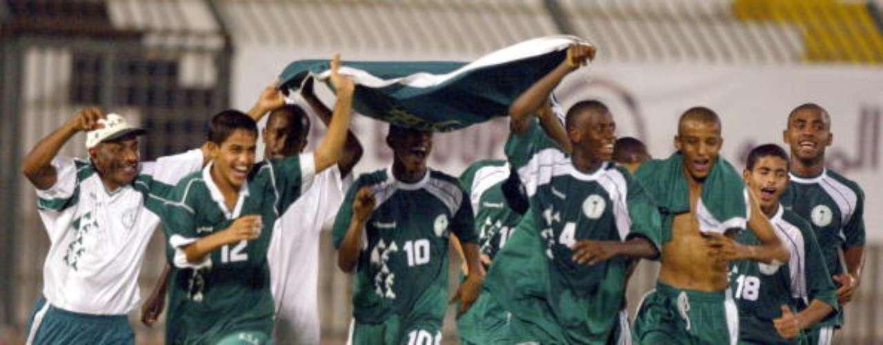 En 1989 Arabia Saudita probó las mieles de la victoria al doblegar en penales (5-4) a Escocia.
