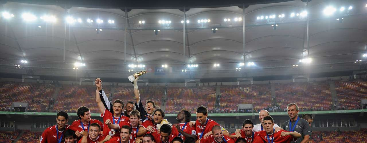 Suiza, en 2009, fue el más reciente campeón en formar parte de la historia de los campeones del Mundial Sub - 17