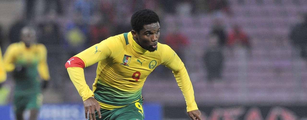 Camerún, y Samuel Eto´o, pelea con Túnez el lugar al Mundial de Brasil, el cual, sin el ahora delantero del Chelsea al 100 por ciento, luce complicado. Actualmente están en el lugar 61.