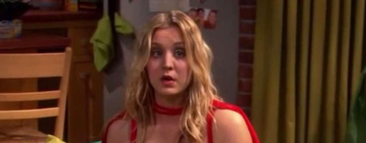 Penny disfrazada:Un hecho frecuente en la serie.