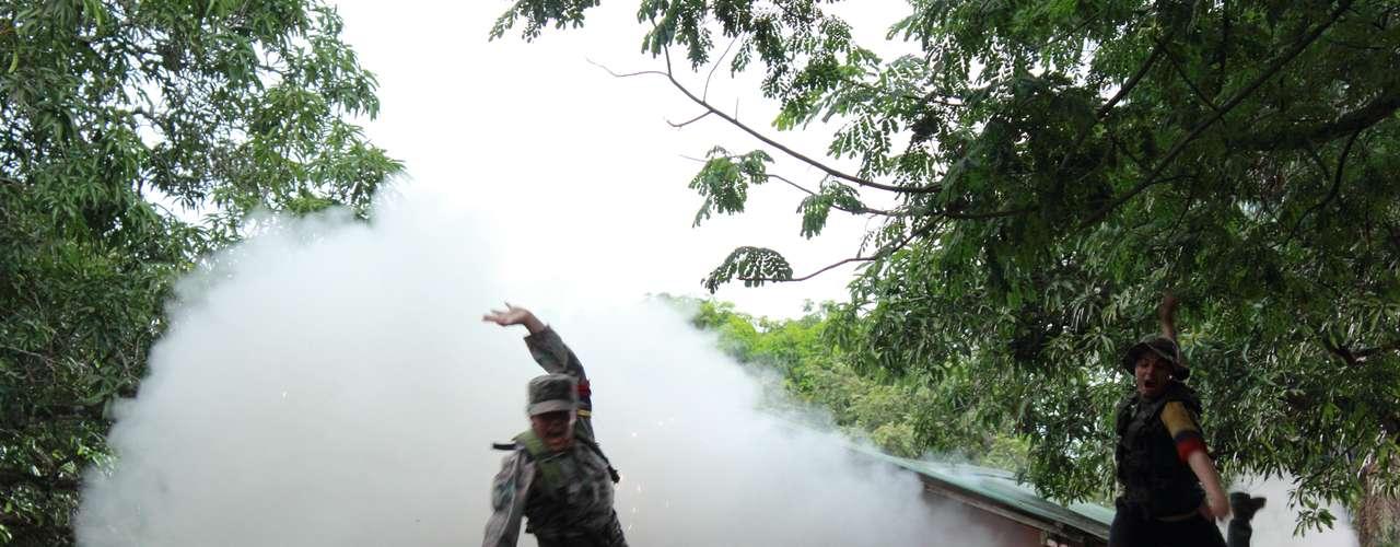 Elenco De Comando Elite Serie Colombiana