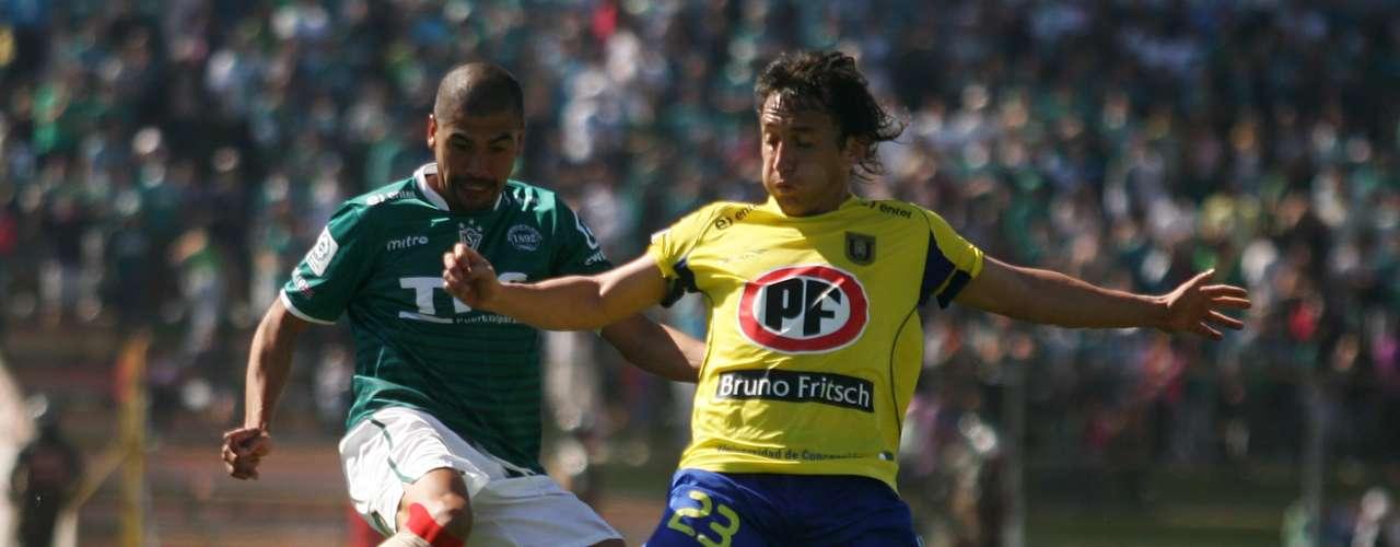 SANTIAGO WANDERERS vs UNIVERSIDAD DE CONCEPCIÓN: Estadio Nicolás Chahuán, 16:00 horas.