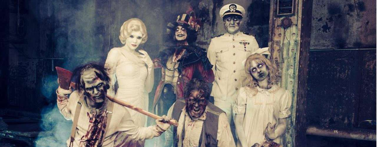 Asiste a las noches de terror de Queen Mary y aterrorízate con circos de miedo, laberintos de la muerte, shows de magia negra y cenas temáticas.
