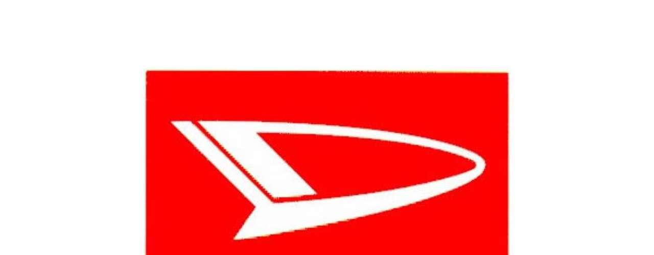 Daihatsu. El nombre de la marca es una combinación de la palabra Osaka y la frase; Motor manufacturado, que al combinarse se pronuncian \