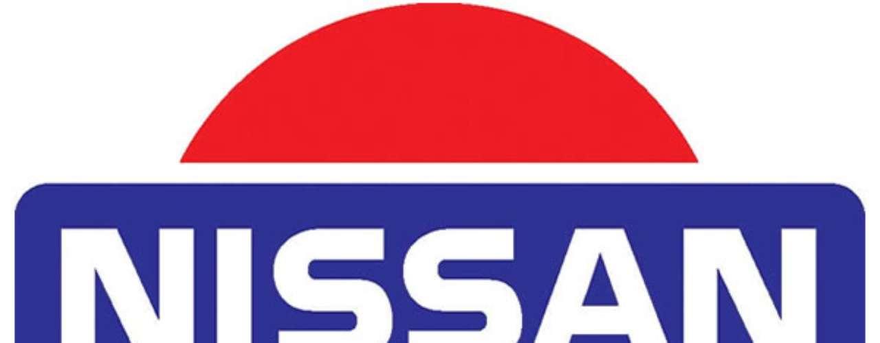 Nissan. El sol naciente simboliza la sinceridad y está representado por el círculo rojo, la barra azul con el nombre de la compañía simboliza el cielo. Estas dos imágenes combinadas expresan la filosofía de la marca; Sinceridad trae éxito.