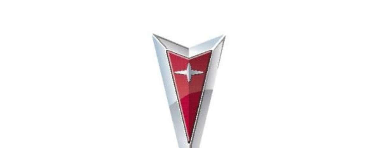 Pontiac Desde 1928 Pontiac ha tenido logos con temas de Americanos Nativos, debido a que la firma fue nombrada así en homenaje a un Indio Americano, el Jefe Pontiac. Su imagen permaneció hasta 1958 cuando fue sustituida por un diseño de una V o de una flecha, y en 1964 fue modificado por el diseño actual.