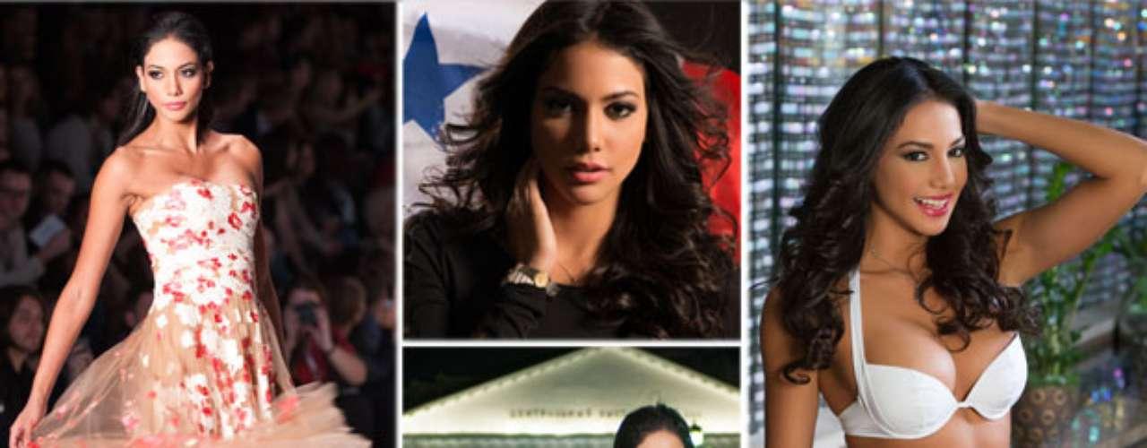 Sublime hermosura la de esta bomba latina, Miss Panamá, Carolina del Carmen Brid Cerrud. Tiene 23 años de edad y reside en Ciudad de Panamá.