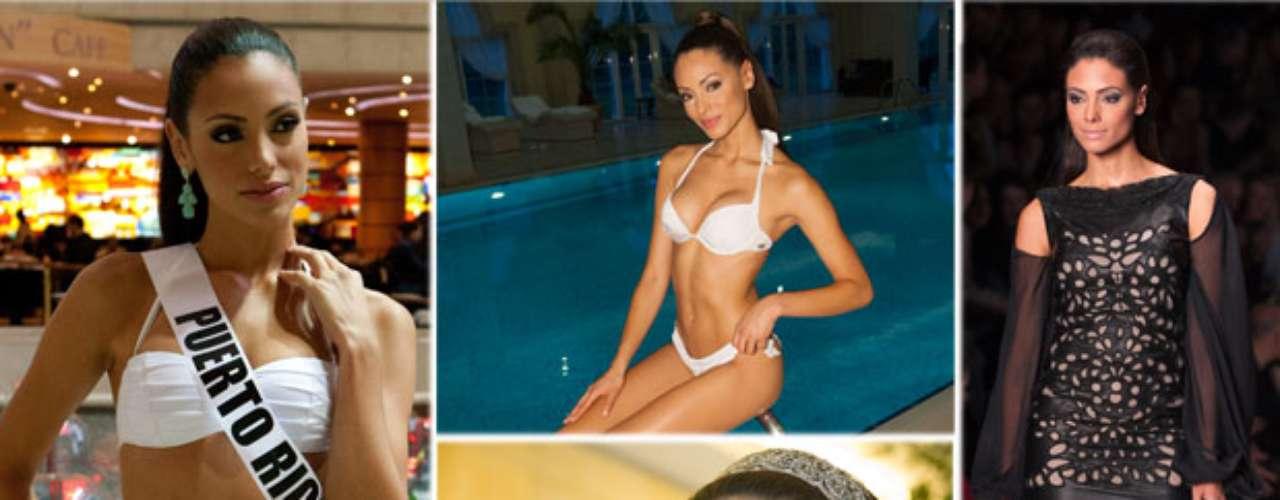Exuberante y refinada Miss Puerto Rico, Monic Marie Pérez Díaz. Tiene 23 años de edad y reside en Arecibo