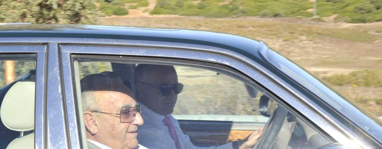 Humberto Janeiro ha llegado en un coche de copiloto.