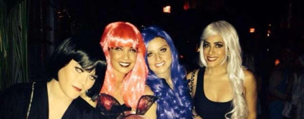 4 de Noviembre -Eiza González gozó con sus amigas a más no poder durante una despedida de solteras en Las Vegas.