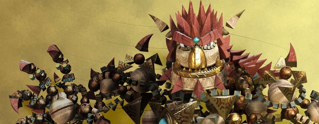 Knack Este título de plataformas mantendrá entretenido al jugador al incorporar una mecánica similar a Katamari Damacy en donde el personaje puede adherir diversas sustancias a su cuerpo para superar los distintos retos del juego. Coloridas gráficas y una fluída animación aguardan al dueño de este título