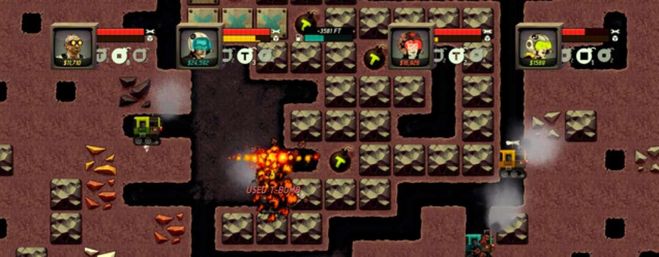 Super Motherload El peculiar título lleva al jugador a minar los recursos encontrados en Marte para aprovecharlos de la mejor manera posible.
