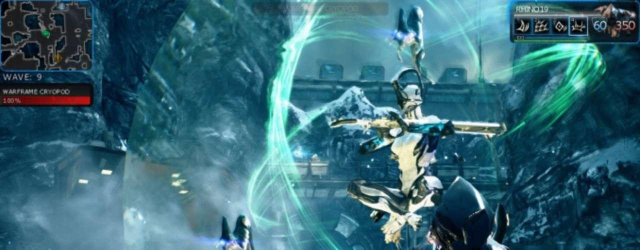 Warframe Este shooter épico espacial pone al jugador en medio de una cruenta guerra entre razas milenarias que luchan sin cuartel por el dominio del Sistema Solar