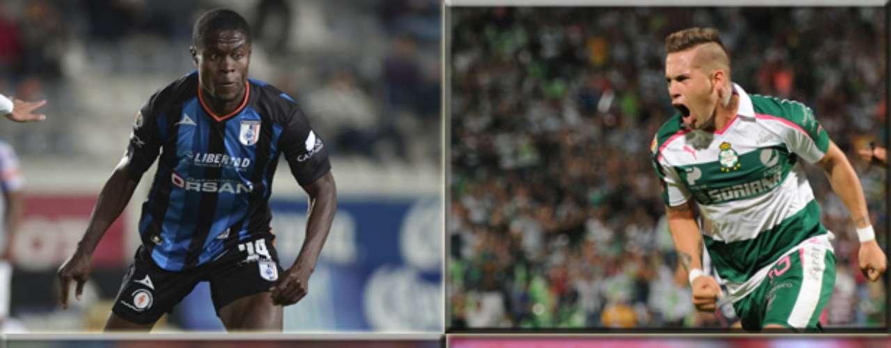 La experiencia sí cuenta cuando se juega una Liguilla, y Santos que enfrentará a Querétaro el próximo domingo, tiene mucha ventaja al contar con hombres más experimentados y con capacidad para resolver la eliminatoria.  A continuación te presentamos a los jugadores más destacados de ambas escuadras