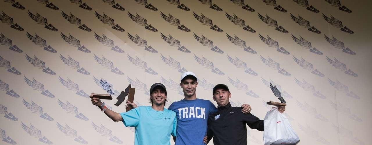Podio masculino en We Run Buenos Aires