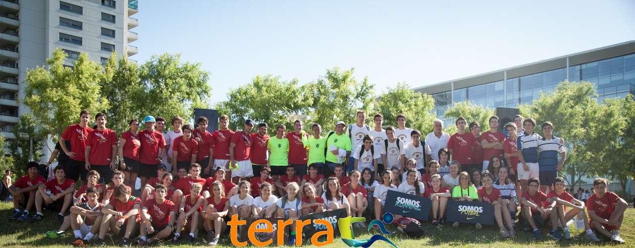 Nike organizó también finales intercolegiales de rugby, hockey, fútbol y running