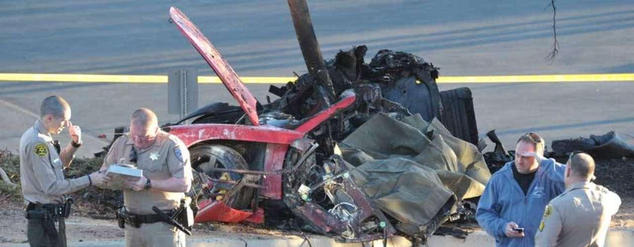 El accidente se presentó en Santa Clarita, al norte de Los Ángeles hacia las 3:30pm, hora local.