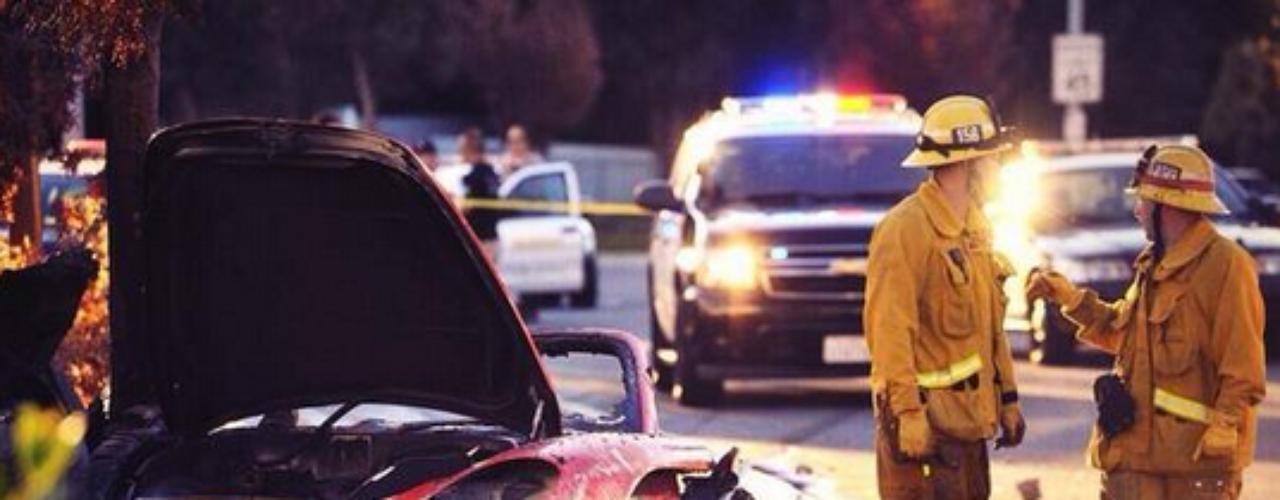 Paul Walkerera el pasajero en el coche de un amigo, en el que ambos perdieron la vida.