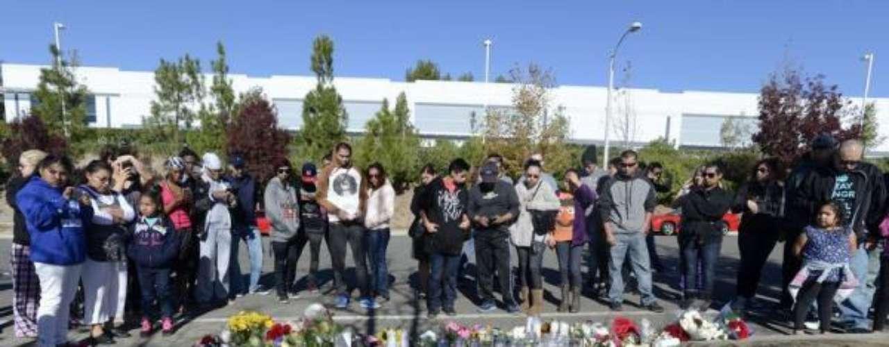 Varios de los amigos y compañeros de rodaje del actor como Vin Diesel yTyrese Gibson han visitado el lugar.