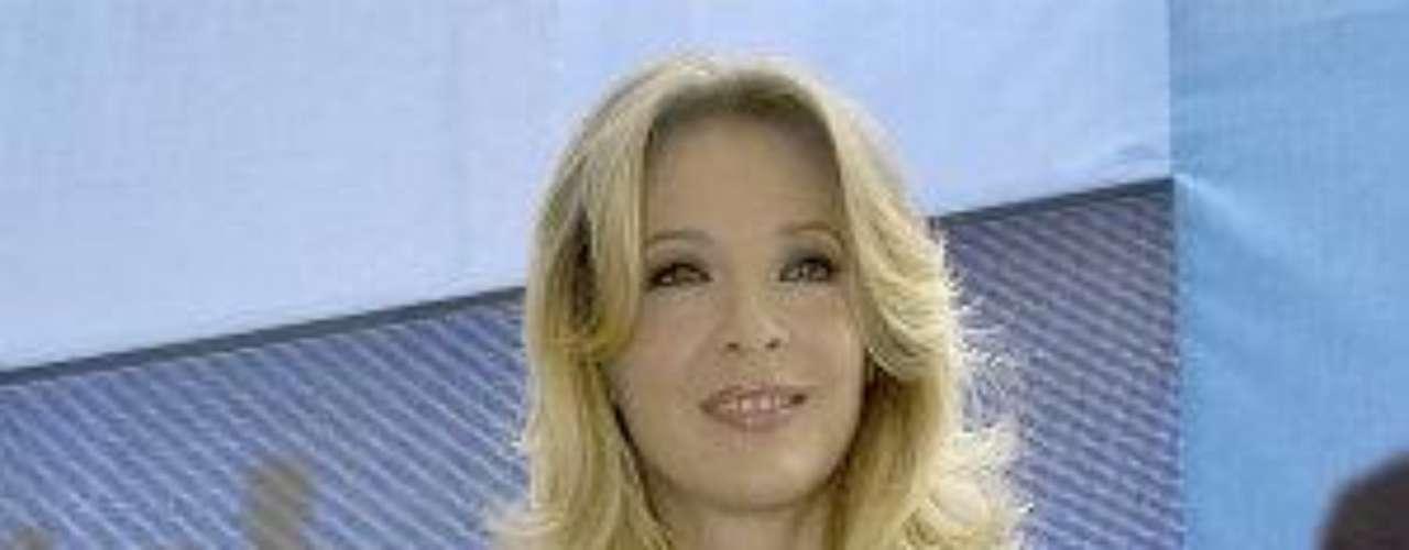La rubia de ojos encantadores y protagonista de telenovelas como \