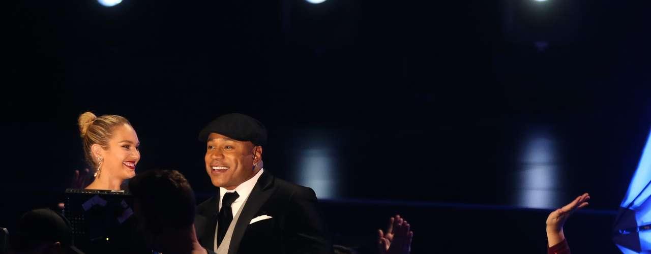 LL Cool J fue nuevamente el presentador del concierto