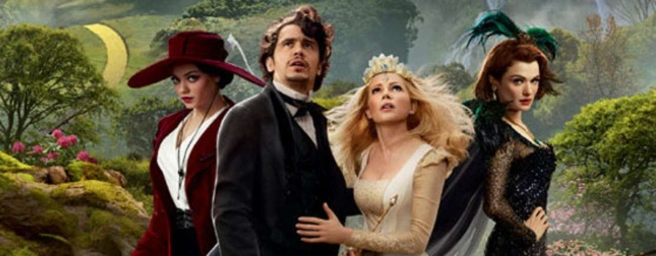 Oz: The Great and Powerful juntó $234.9 millones de dólares en taquilla