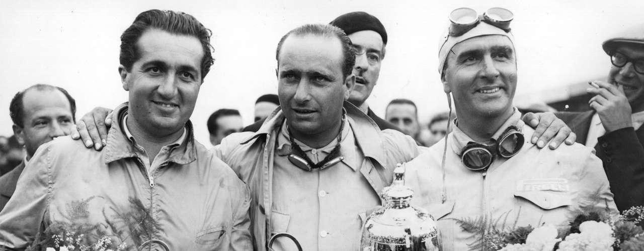 La relación que unió a los italianos Alberto Ascari (izq) y Nino Farina (der) en Ferrari durante las temporadas 1952 y 1953 fue conflictiva. Primer campeón de F1, Farina aparecía como máxima estrella en la escudería, pero sucumbió ante el talento del Ascari, diez años menor, quien logró los dos títulos de esos años.