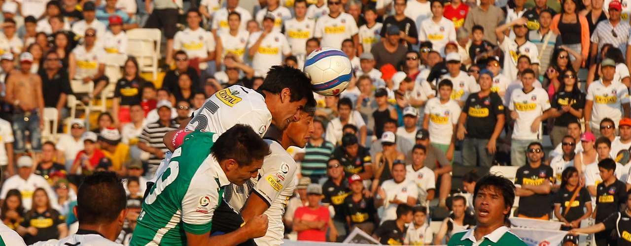 Los albos vencieron a los itálicos en el epílogo del compromiso disputado en el Estadio Monumental, logrando así comenzar con el pie derecho el año 2014. Los goles de l Cacique fueron convertidos por Gonzalo Fierro y Felipe Flores. En tanto, el descuento verde lo anotó Bryan Carrasco.
