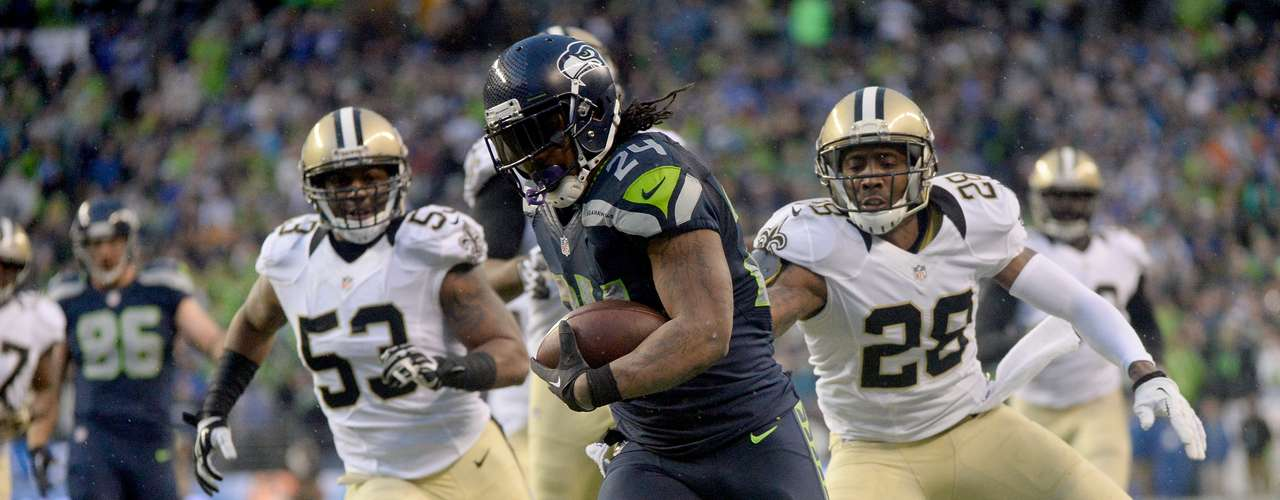 Once again, Lynch humiliated the Saints in the postseason. Of course, the run lacked the explosiveness of his infamous 'beast mode' touchdown in the 2010 playoffs. Regardless, he ensured that Seattle did not become the latest no.1 seed to fall in the divisional round.