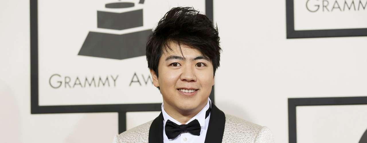 El pianista Lang Lang llegó a los premios Grammy esperando causar sensación en la premiación