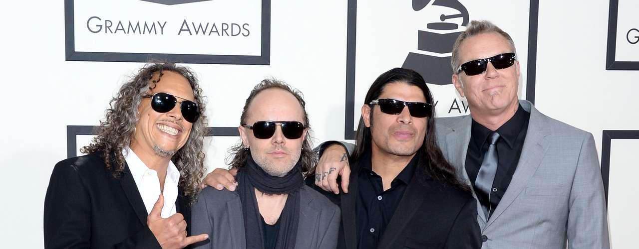 La banda Metallica se presentó a los Grammys después de años de no hacerlo. ¿Qué sorpresa nos tendrán?