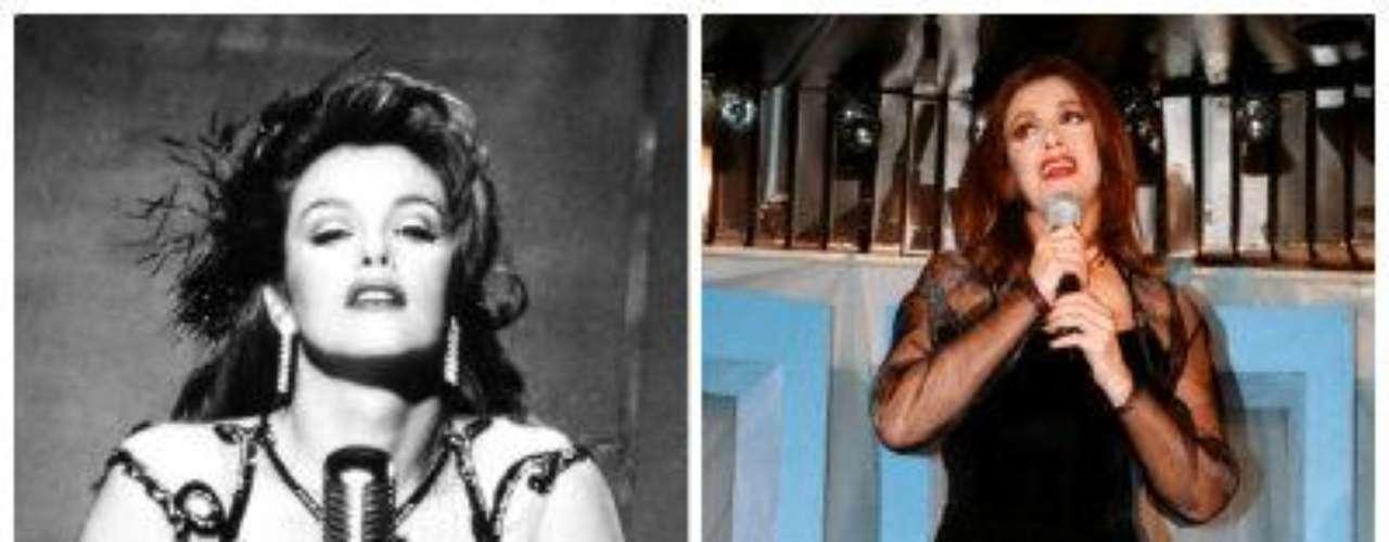 La actriz y cantante Lucía Méndez, quien se dio aconocer en los años setenta con \