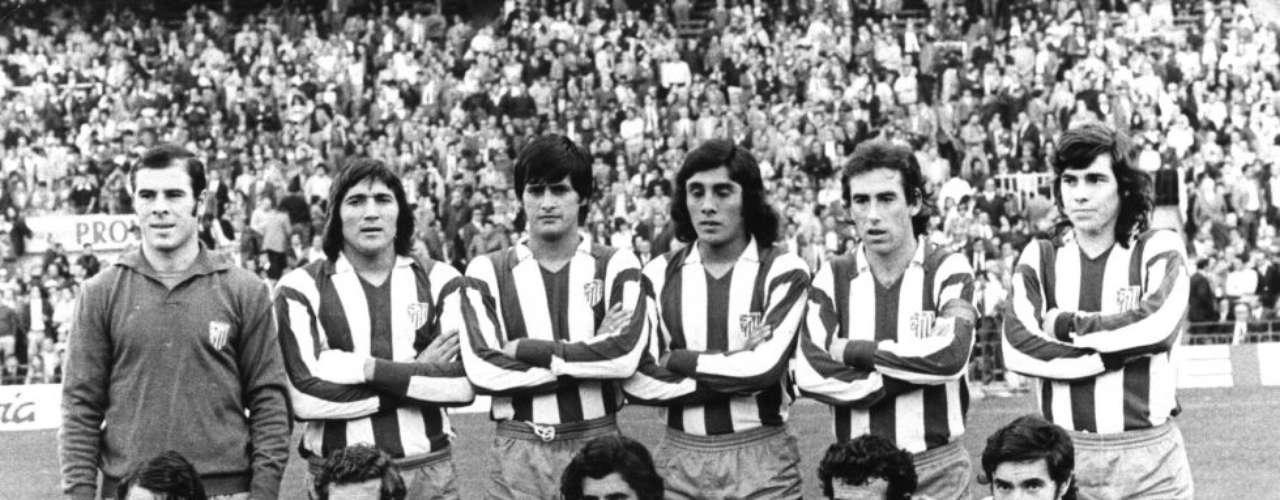 Alineación del Atlético de Madrid de los años 70
