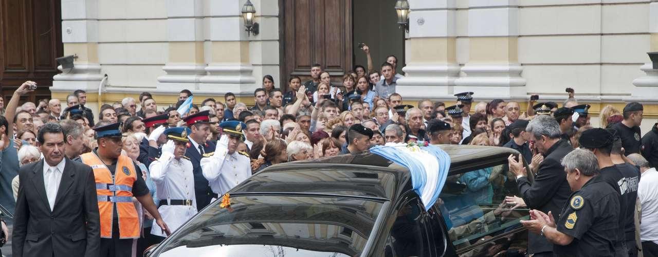 Monseñor Poli deseó a los familiares y allegados de los servidores públicos fallecidos \