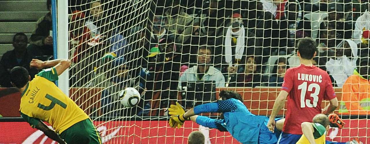 Ante Serbia volvió a salir a relucir su actitud guerrera, y vencieron al cuadro europeo por 2 a 1, pero no alcanzó para calificar por la diferencia de goles.