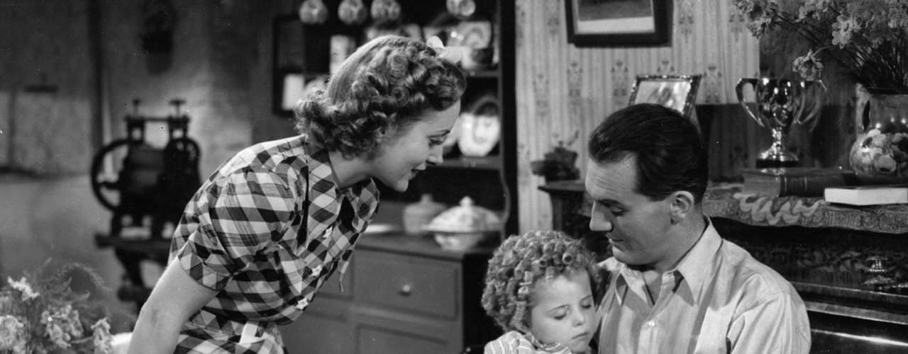 La actriz en una escena de 'Little Miss Somebody' en 1938.