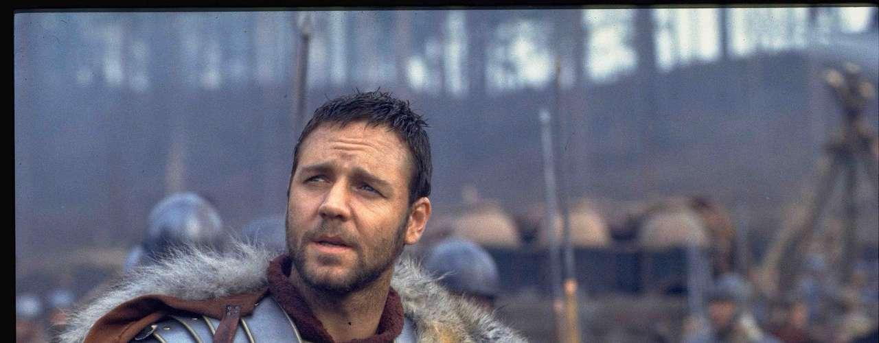Russell Crowe quedó en la mente de todos como 'Gladiador'. Mel Gibson fue uno de los actores que rechazó el papel.