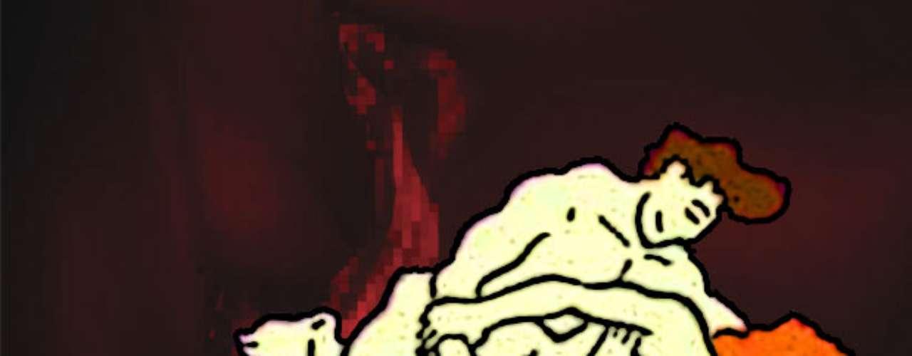 El molde. Ambos se recuestan de lado. y los glúteos de la mujer se apoyan contra el vientre del hombre mientras éste entra en ella suavemente. Romántica y deliciosa