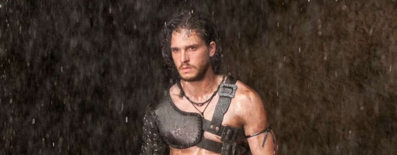 Kit Harrington ('Game of Thrones') interpreta a 'Milo', un exesclavo que se vuelve gladiador en la nueva película de Paul W.S. Anderson, 'Pompeya' (2014).