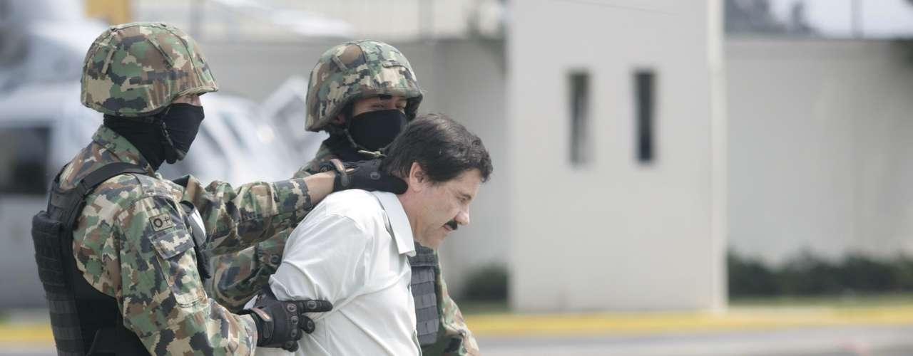 El narcotraficante mexicano Joaquín \