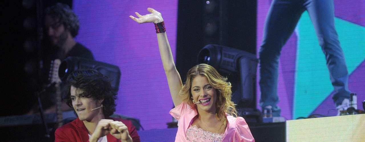 Violetta cerró la gira que comenzó en julio de 2013 en el Teatro Gran Rex, y que se presentó ante más de 925 mil espectadores en 27 ciudades de 12 países, con localidades agotadas para las 10 funciones en el Estadio Luna Park de Buenos Aires, Argentina.