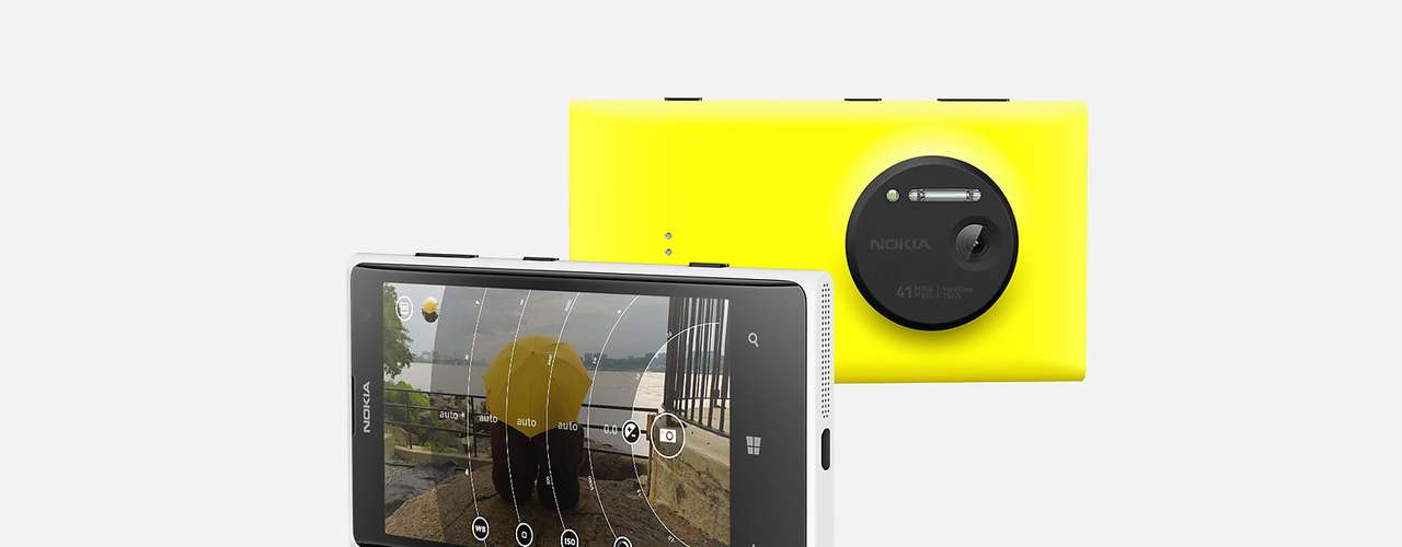 13º - Nokia Lumia 1020 - Este terminal puede ser definido con una cifra y una palabra: 41 megapíxeles. Más allá de eso no hay nada nuevo bajo el sol