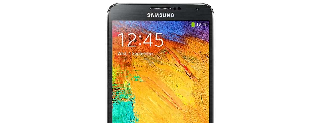 8º - Samsung Galaxy Note 3 - La tecnología de esta phablet de 5.7 pulgadas es lo mejor que Samsung puede ofrecer hasta el momento. Su interfaz táctil incluso te permite administrar apps y tomar notas como si se tratara de una libreta