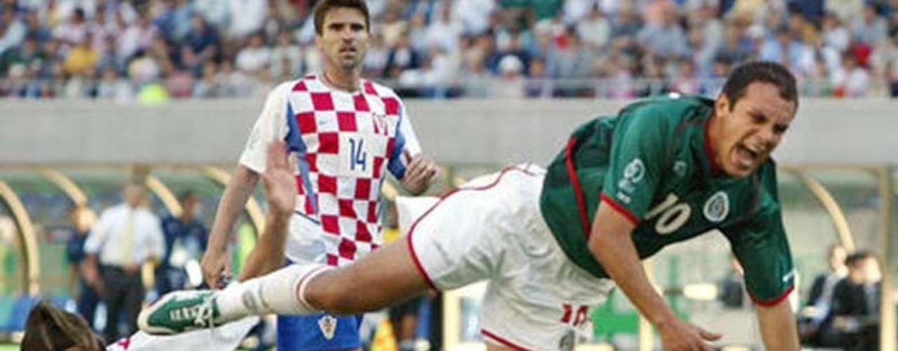 23 de junio: México cierra la primera fase del Mundial ante Croacia en la ciudad de Recife. El último duelo entre ambos fue en el Mundial de Corea-Japón 2002, que terminó con triunfo mexicano gracias a un gol de penalti de Cuahtémoc Blanco, aún así la serie favorece a los europeos dos triunfos a uno.
